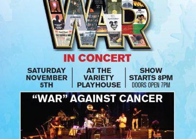War Charity Concert Poster