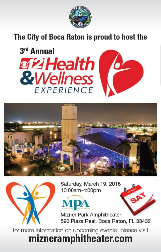 Health and Wellness Experience flyer