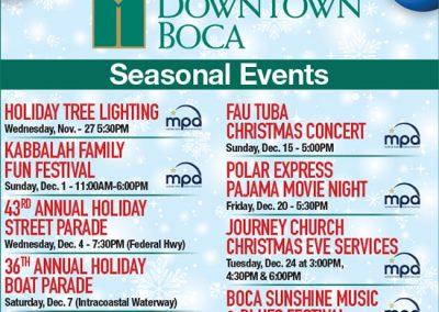 Light Up Downtown Boca
