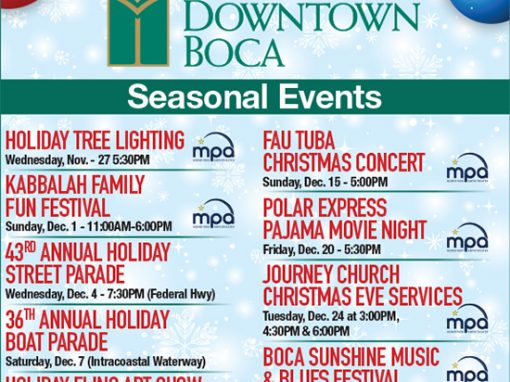 Light Up Downtown Boca