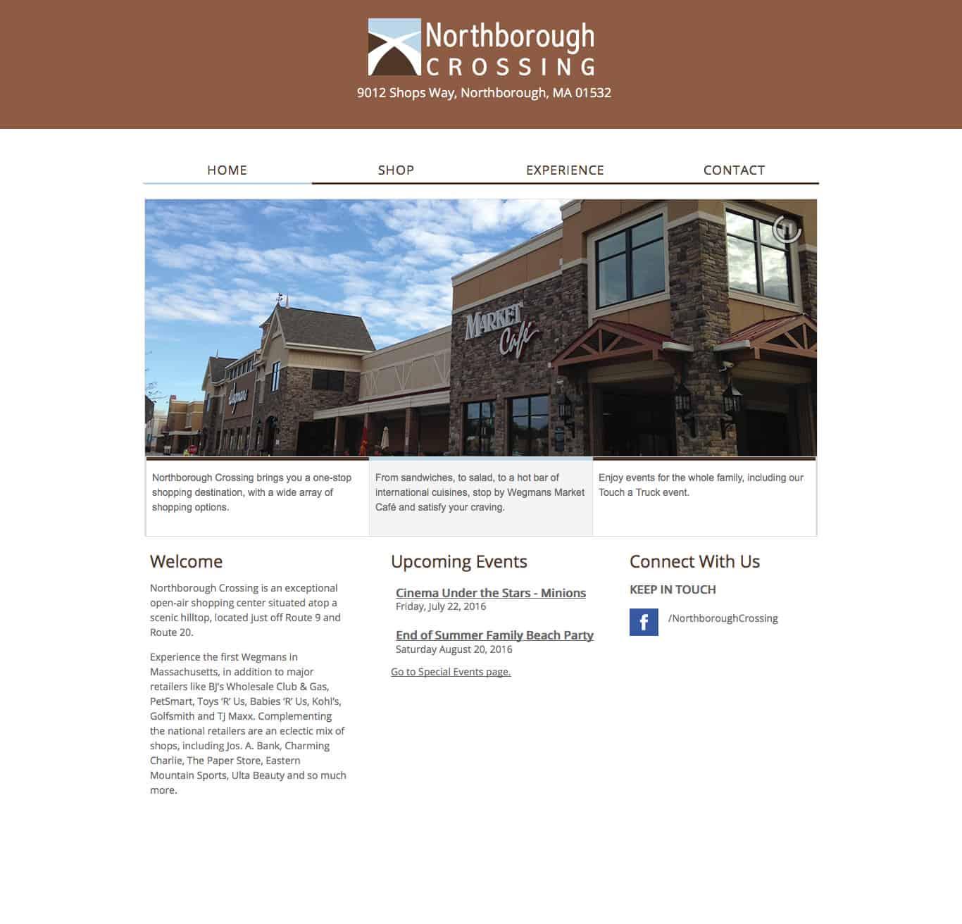 northboroughcrossing.com home page