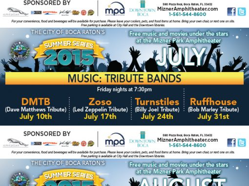 City of Boca Raton Summer Series 2015