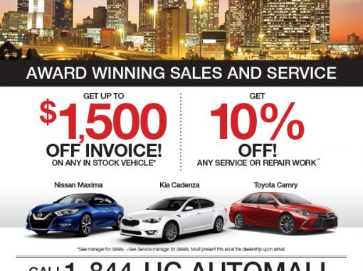 Union City Auto Mall Sales and Service Ad