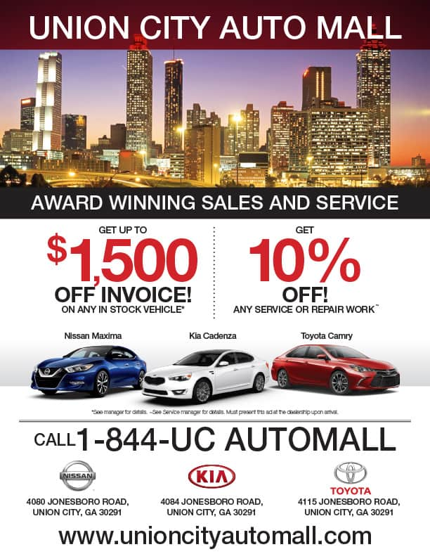 Union City Auto Mall Sales and Service Ad