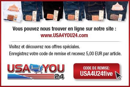 USA4YOU24.com coupon code card French