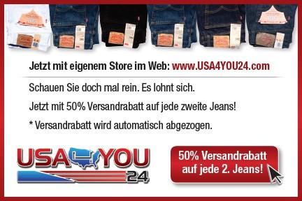 USA4YOU24.com Discount Card German